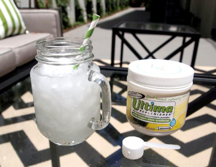 how to make electrolyte powder at home