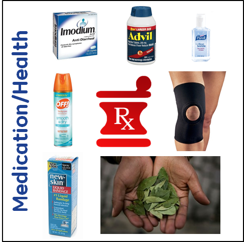 Packing List: Health/Medication for Trekking to Machu Picchu