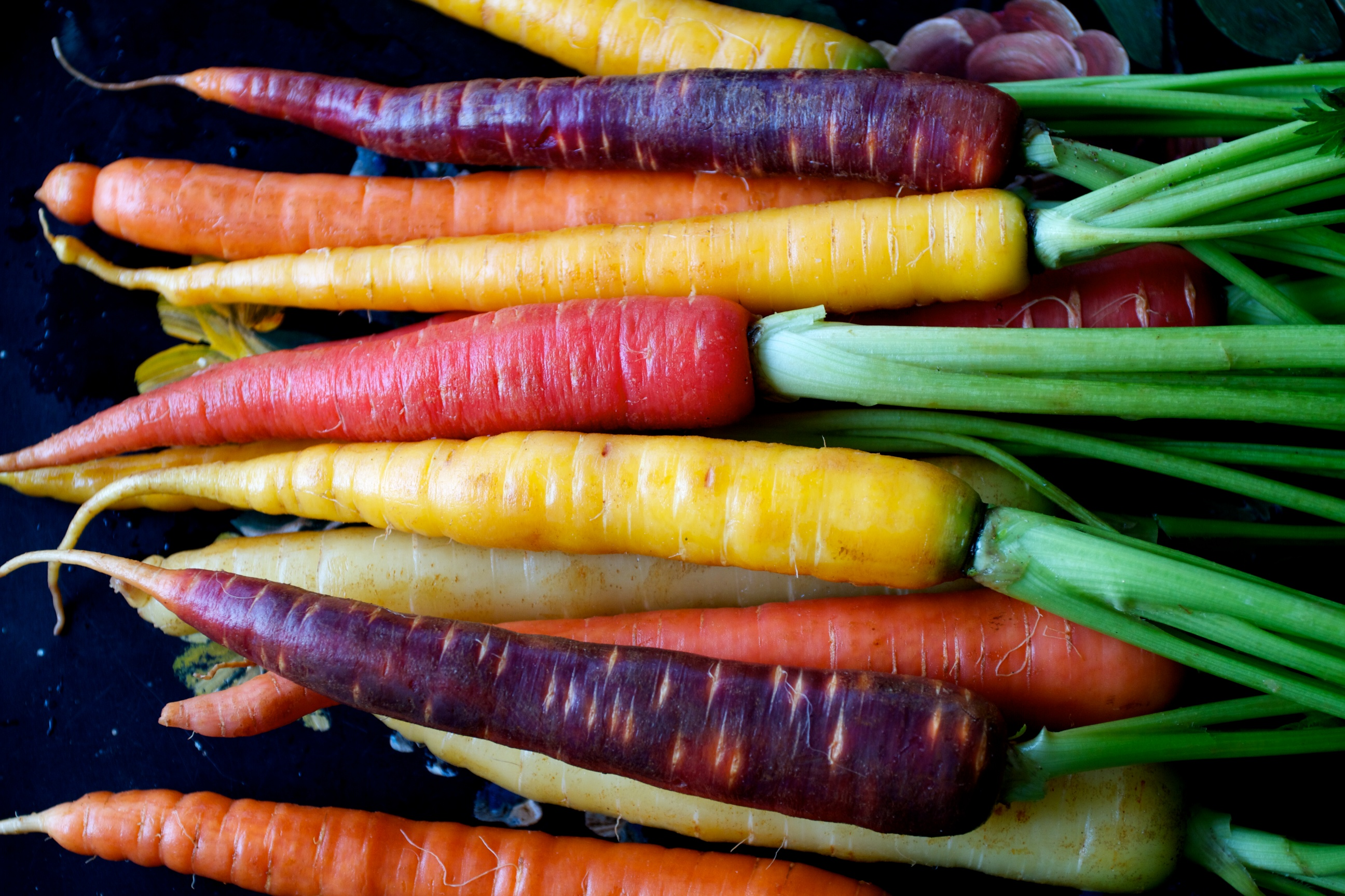 Natural Color Of Carrots