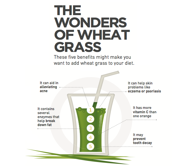 Infographic 5 Reasons Why Your Awesome Content Isn T: The Wonders Of Wheatgrass
