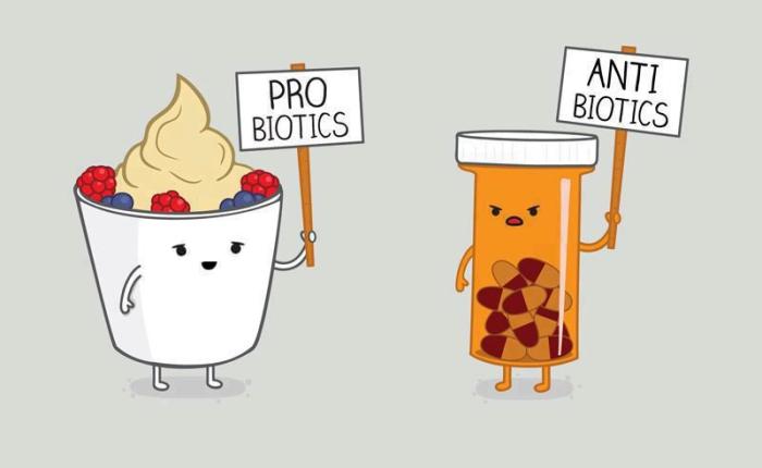 Probiotics-Antibiotics