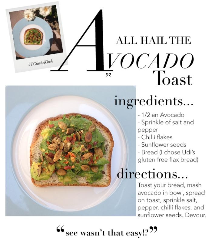 TG Avocado-Toast