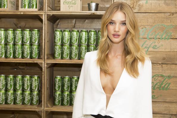 Rosie Huntington Whiteley coca cola
